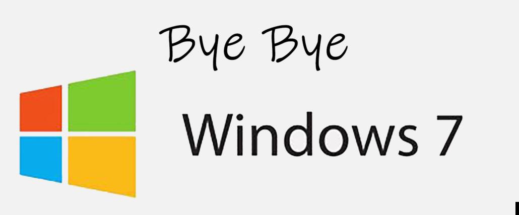Windows 7 fine supporto dal 14 gennaio 2020