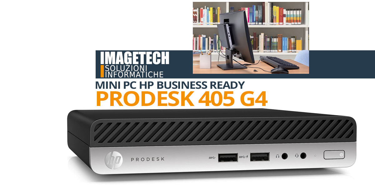 Mini PC HP Desktop PRODESK 405 G4
