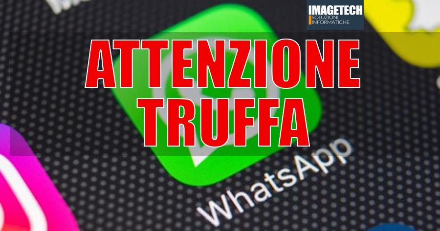 Attenzione Truffa E-Mail Whatsapp