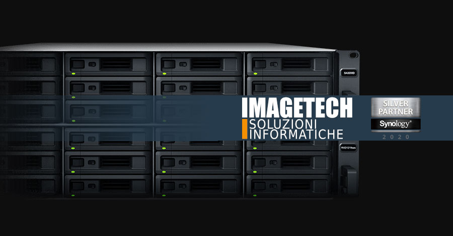 Imagetech partner Synology nas e soluzioni protezione dati