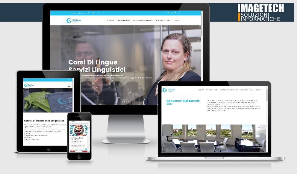 Centro Linguistico Cesena Nuova Web Identity