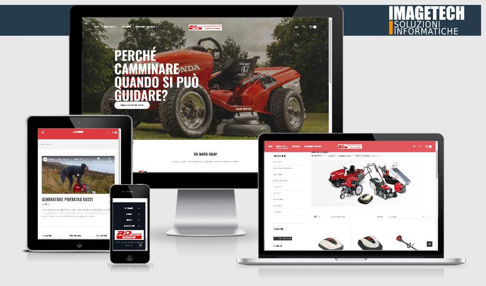 RD MOTO nuovo sito E-Commerce